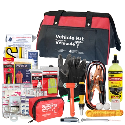 Emergency Roadside Vehicle Kit